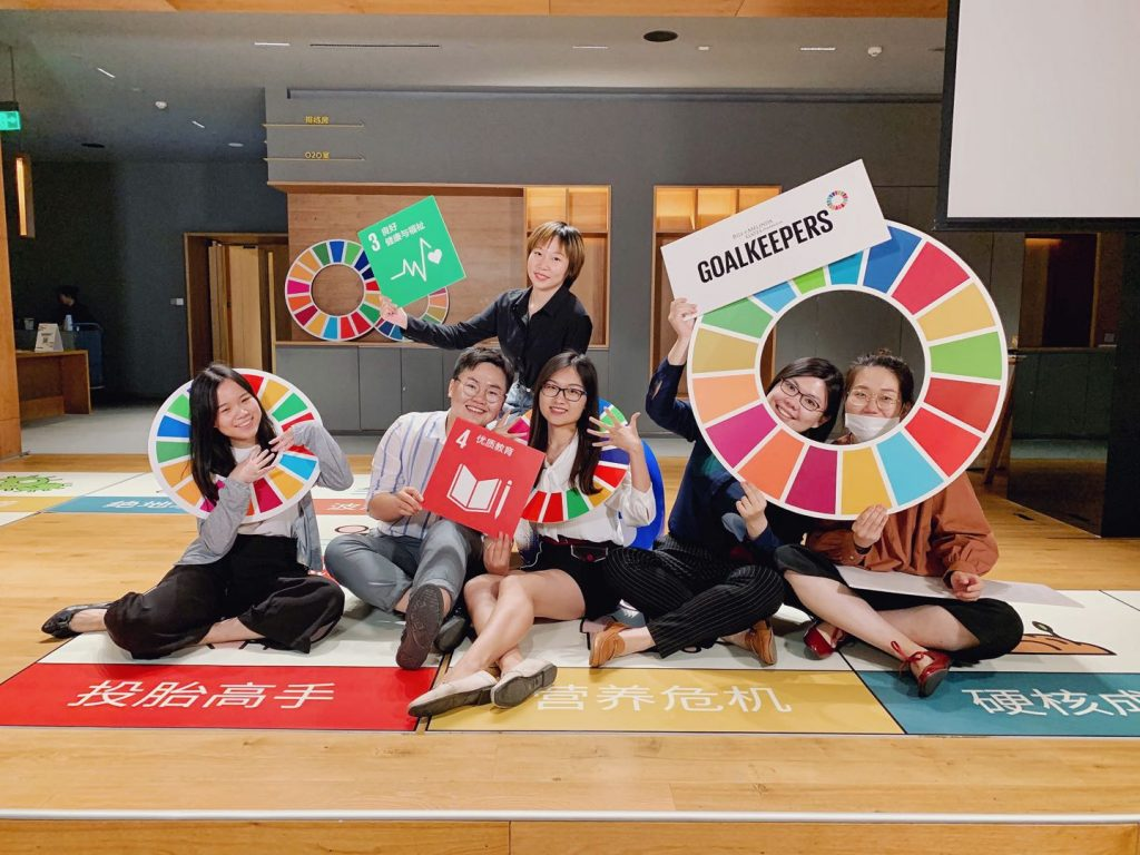 Launching and Running Social Media Channels to Promote the Global Goals