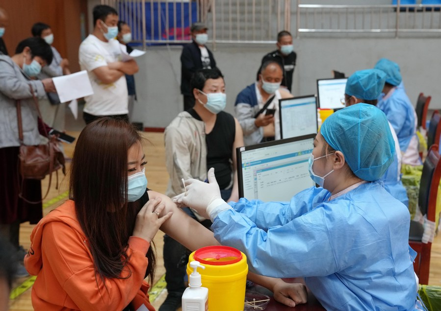 China reaches 40% vaccine coverage, aims for 80% by year-end